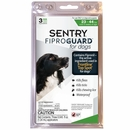 3-PACK Fiproguard Flea & Tick Squeeze-On for Dogs 23-44 lbs