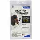 3-PACK Fiproguard Flea & Tick Squeeze-On for Dogs 89-132 lbs