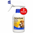 3 Pack Frontline Spray (750 mL)