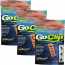 3-PACK GoClip Personal Mosquito Repellent