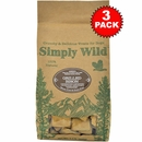 3-PACK Simply Wild Grilled Bison Dog Treats (3.3 lbs)