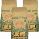 3-PACK Simply Wild Peanut Butter Dog Treats (3.3 lbs)