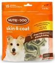 3M Nutri-Dog Skin And Coat Chews SMALL (15 ct)