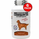 6-PACK Cosequin® DS 250 Count (1500 tablets) CHEWABLES