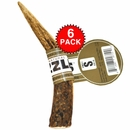 6-PACK Spizzles Elk Antler Dog Chew - Solid (Small)