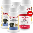 6-PACK Syner-G Digestive Enzymes (1,200 Tablets) + FREE Joint Treats Minis