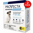 8 MONTH Provecta Advanced for Medium Dogs (11-20 lbs)