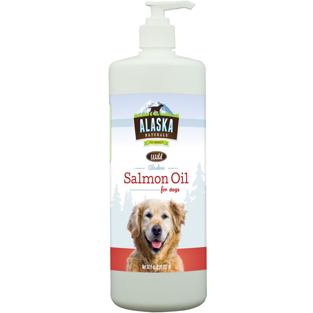 Alaska Naturals Wild Alaska Salmon Oil Original for Dogs (32 oz)
