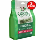 ALL NEW Greenies� - 3 PACK REGULAR (36 BONES)