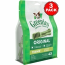 ALL NEW Greenies� - 3 PACK TEENIE (129 BONES)