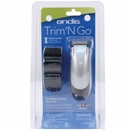 Andis Trim 'N Go Cordless Trimmer - Silver/Black