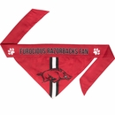 Arkansas Dog Bandana - Tie On (Large)