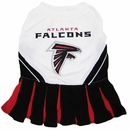Atlanta Falcons Cheerleader Dog Dress - Medium