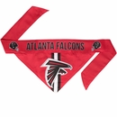 Atlanta Falcons Dog Bandana - Tie On (Large)