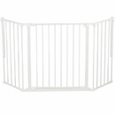 "BabyDan Flex Gate White - Medium (35.4""-57.5"")"