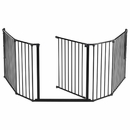 "BabyDan Flex Hearth Gate Extra Large - Black (35.4""-109.5"")"