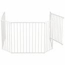"BabyDan Flex Hearth Gate Extra Large - White (35.4""-109.5"")"