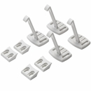 BabyDan Safety Drawer Cabinet Lock - White (4 pack)