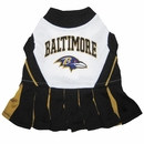 Baltimore Ravens Cheerleader Dog Dress - XSmall