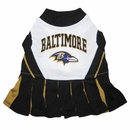 Baltimore Ravens Cheerleader Dog Dresses