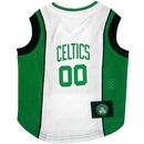 Boston Celtics Dog Jersey - Large