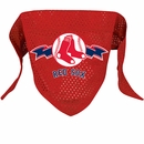Boston Red Sox Dog Bandanas