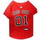 Boston Red Sox Dog Jersey - XSmall