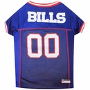 Buffalo Bills Dog Jersey - XSmall