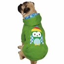 Casual Canine North Pole Pals Hoodie Owl - XX-SMALL