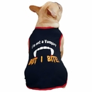 Casual Canine Vampire Tee Black - LARGE