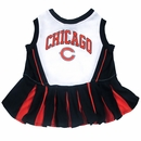 Chicago Bears Cheerleader Dog Dress - XSmall