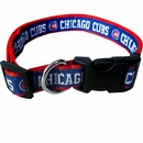 Chicago Cubs Collar - Ribbon (Medium)