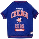Chicago Cubs Dog Tee Shirt - XSmall