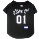 Chicago White Sox Dog Jersey - Large