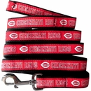 Cincinnati Reds Dog Leash - Ribbon