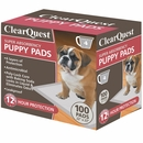 "ClearQuest Super-Absorbent Puppy Pads (22"" x 23"") - 100 Pack"