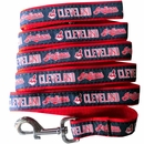 Cleveland Indian Dog Leash - Ribbon