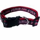 Cleveland Indians Collar - Ribbon (Large)