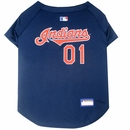 Cleveland Indians Dog Jersey - XSmall