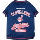 Cleveland Indians Dog Tee Shirts