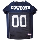 Dallas Cowboys Dog Jersey - Large