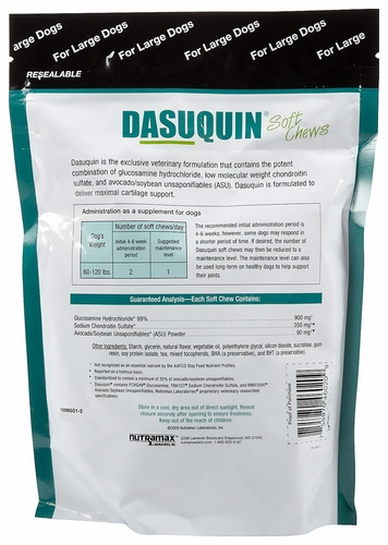 dasuquin soft chews for large dogs 84 chews. Black Bedroom Furniture Sets. Home Design Ideas