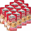 Delectables Bisque Lickable Treat for Cats - Tuna & Chicken (Box of 12)
