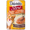 Delectables Stew Lickable Treat for Senior Cats - Chicken & Tuna (1.4 oz)