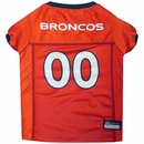 Denver Broncos Dog Jersey - Large