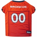 Denver Broncos Dog Jerseys