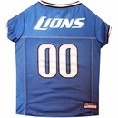 Detroit Lions Dog Jersey - XSmall