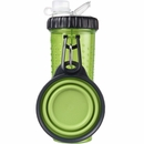 Dexas Snack-DuO with Companion Cup - Green (24 oz)