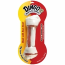 "Dingo White Hand Tied Bone Large 8"" (3.5 oz)"