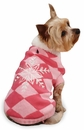 """East Side Collection Snowflake Snuggler Sweaters Pink - XS (10"""")"""